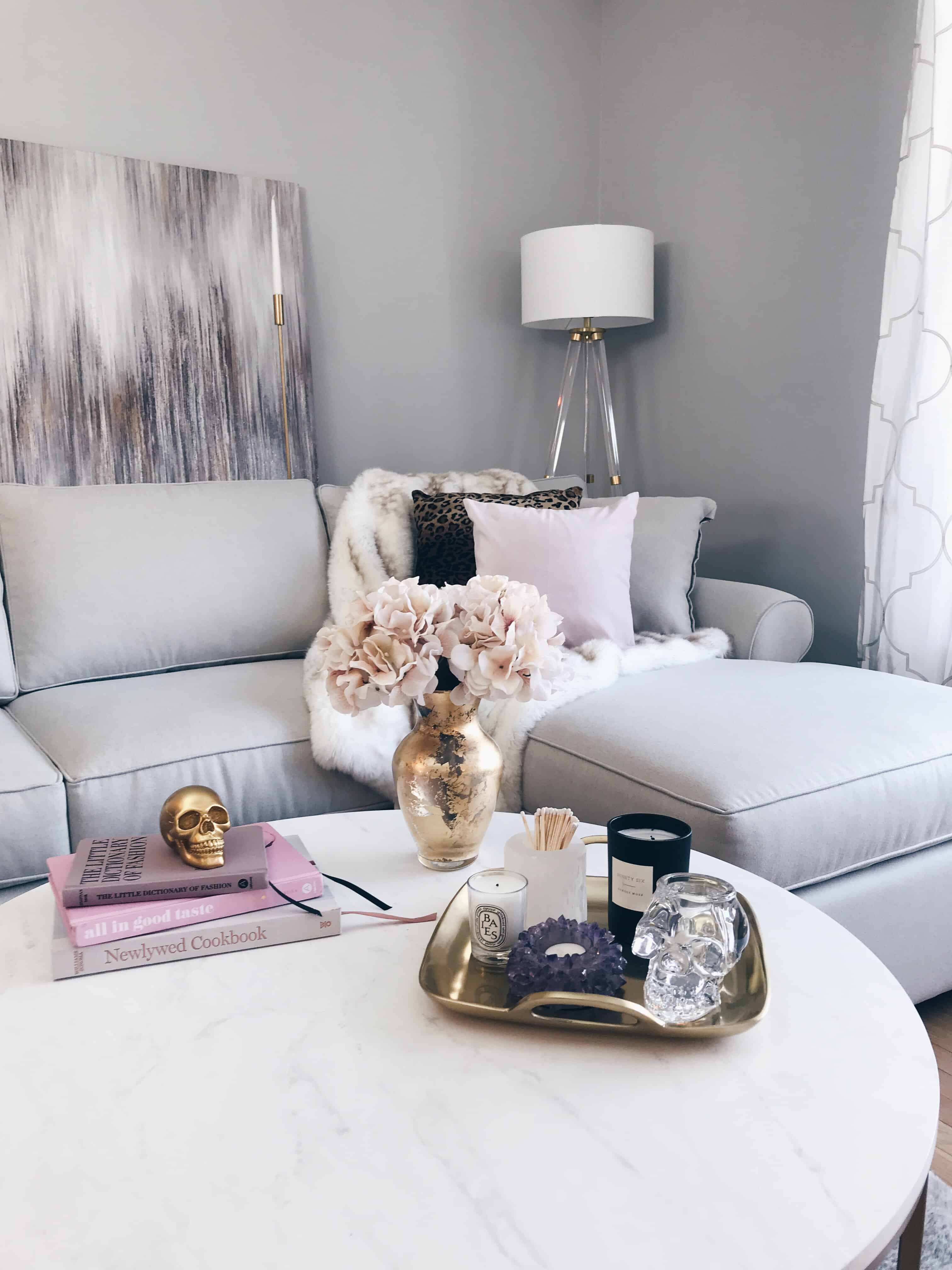 Bringing A Modern Glam Living Room Vision To Life A
