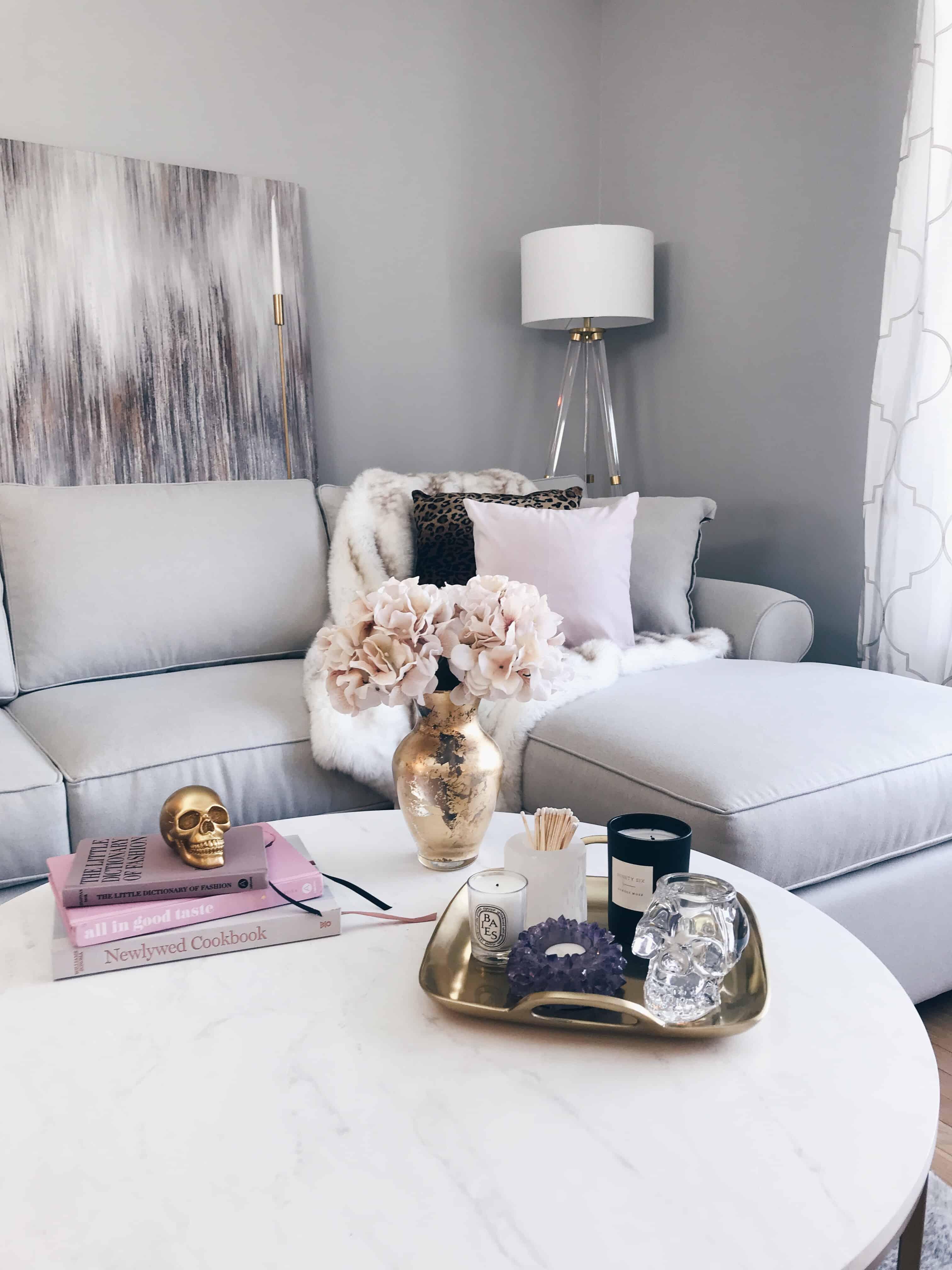 modern glam decor