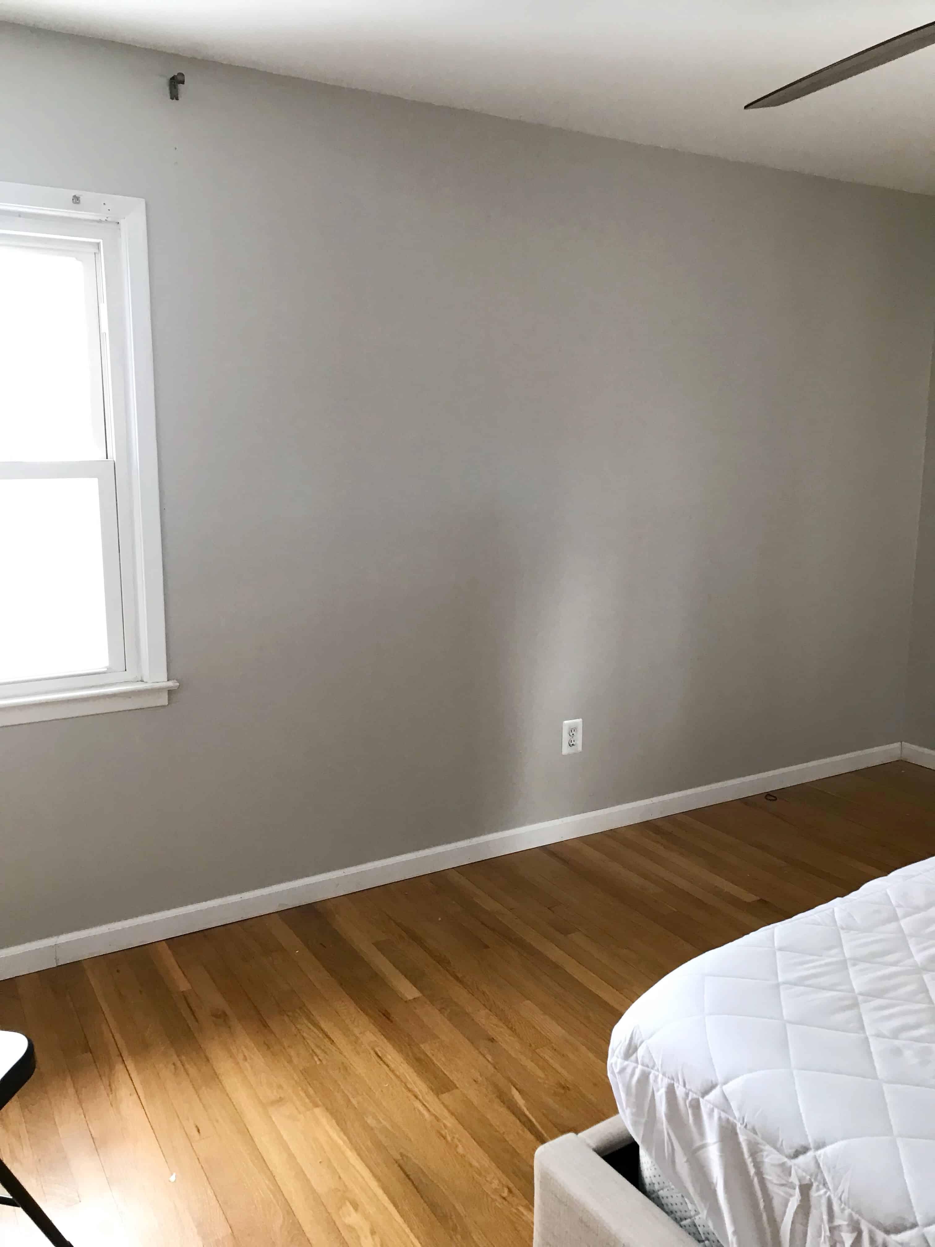 bedroom before repose gray