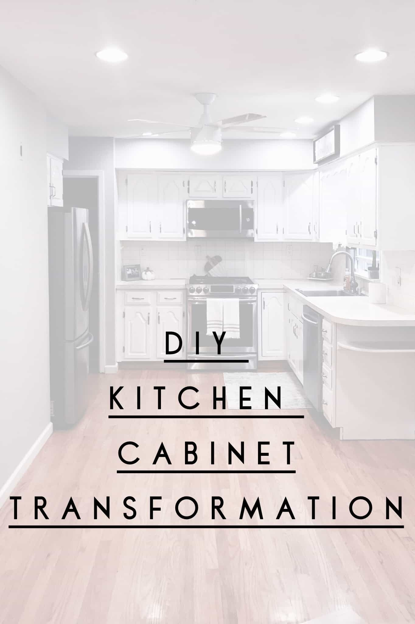 Diy Kitchen Cabinet Transformation A Glass Of Bovino