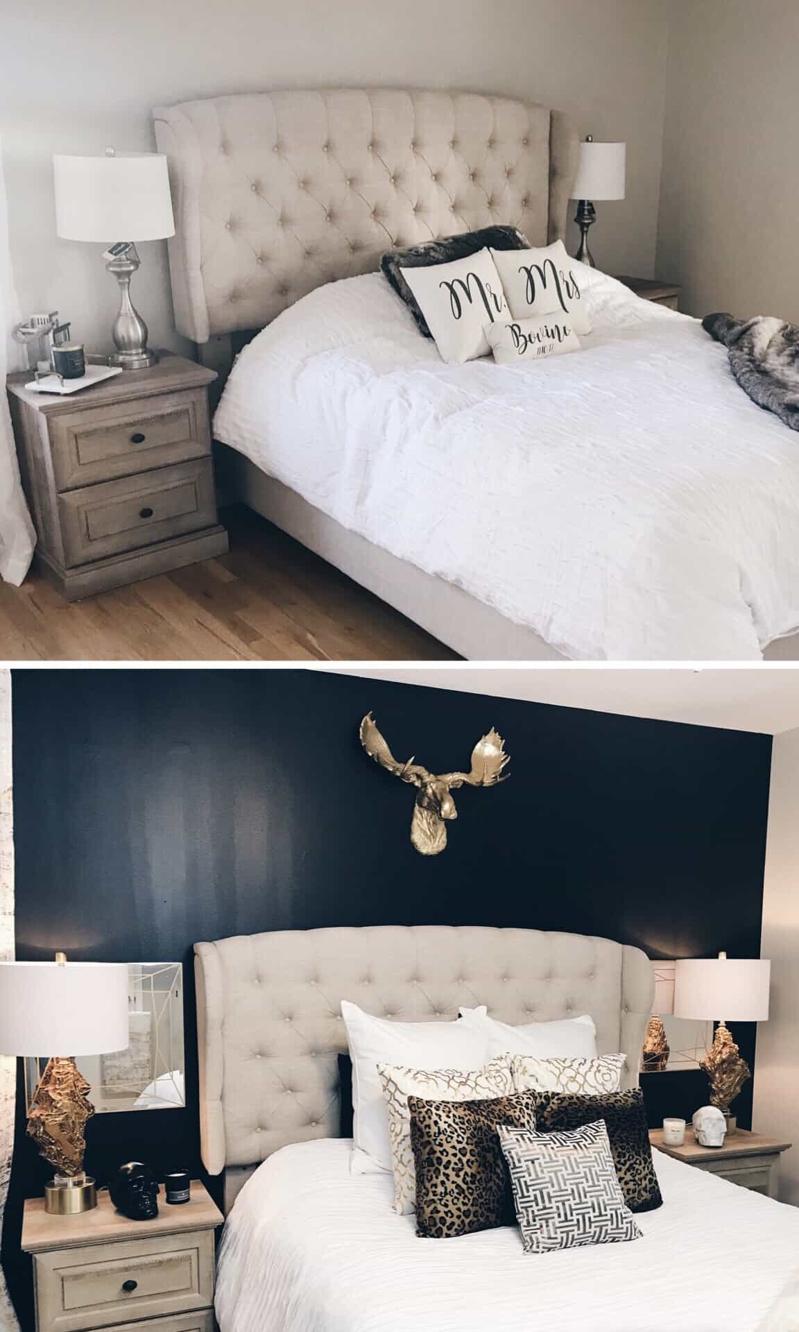 before after bedroom