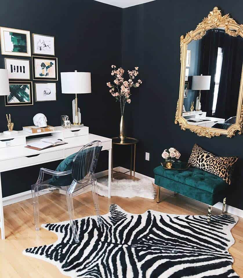black glam office