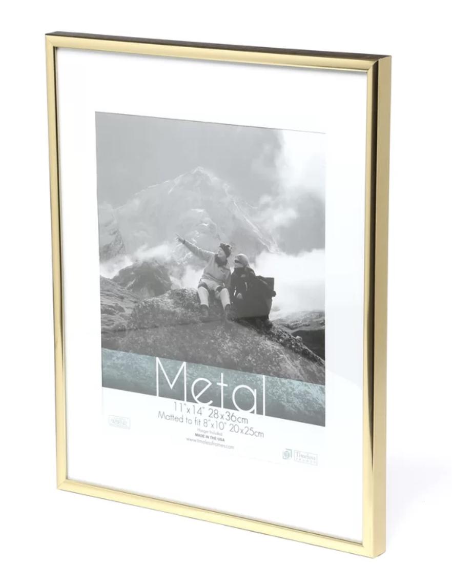 wayfair gold frame