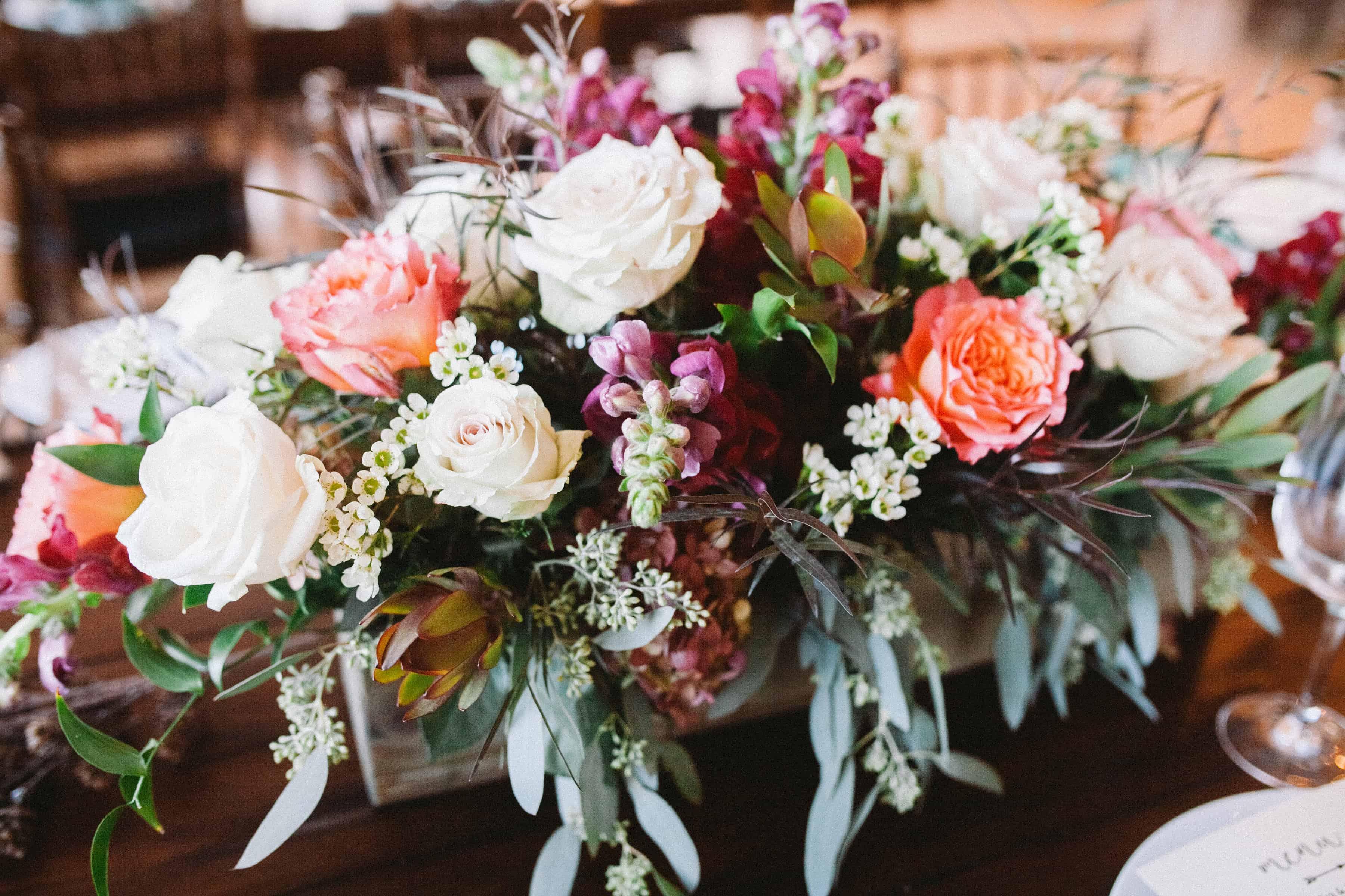 tablescape flowers