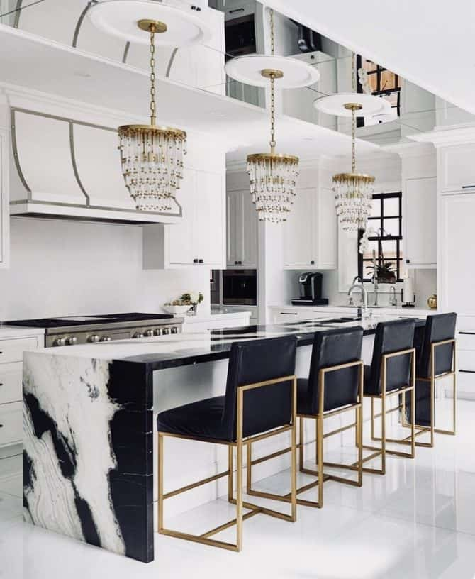 Lusting over Luxe Gold Statement Lighting