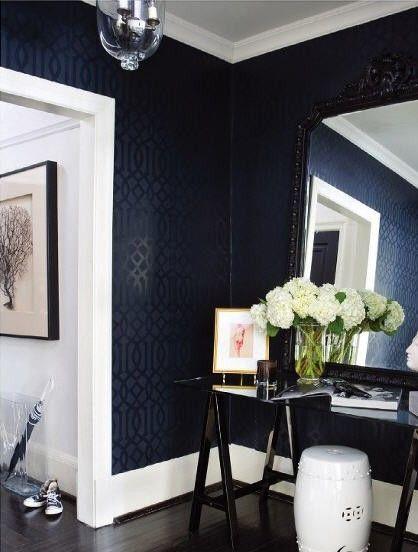 black textured wallpaper