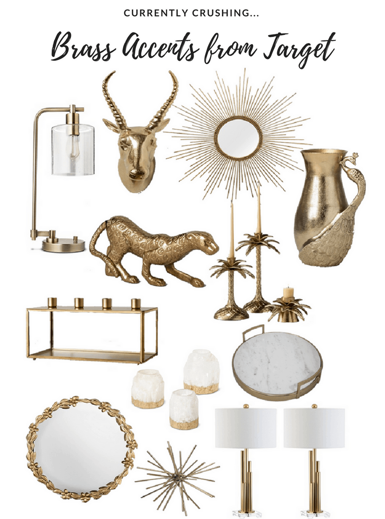 Currently Crushing: Brass Accents from Target