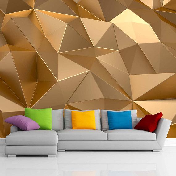 gold 3d wallpaper