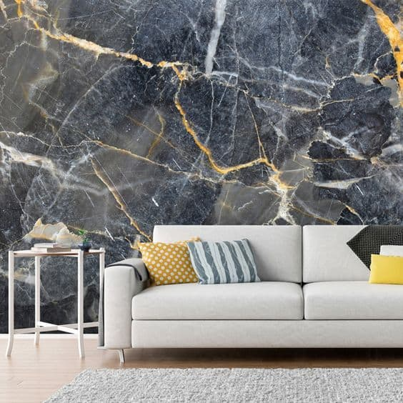 gray marble wall