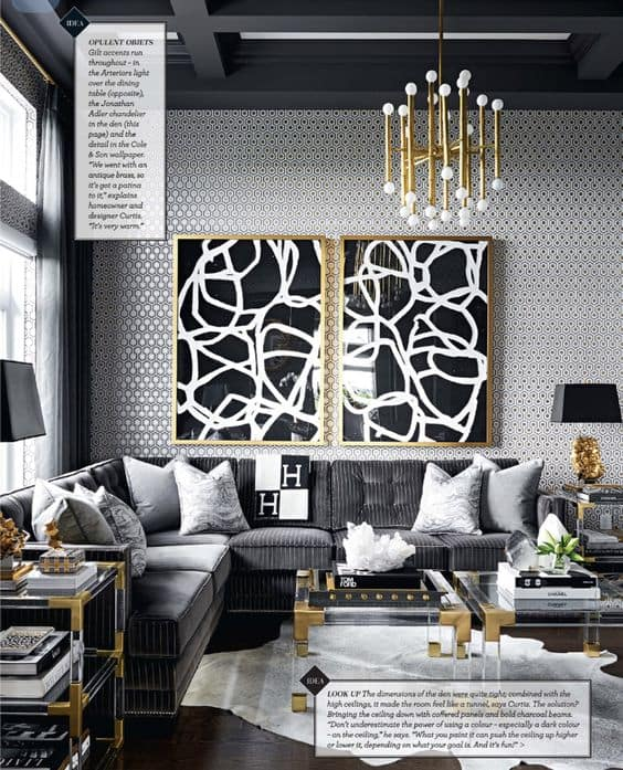 7 Glamorous Rooms That Are Inspiring The Hell Outta Me