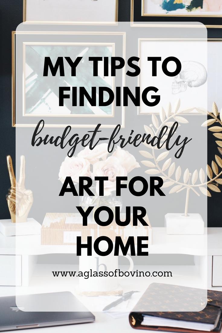 art on a budget