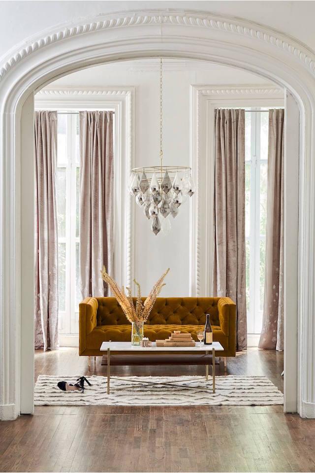 lush blush curtains