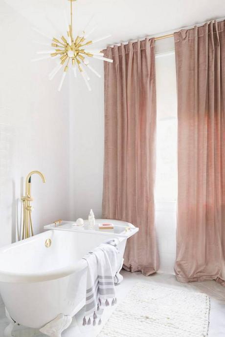 blush velvet curtains