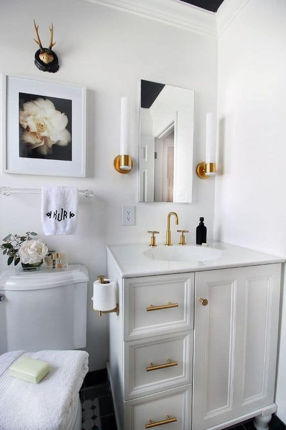 bathroom update paint