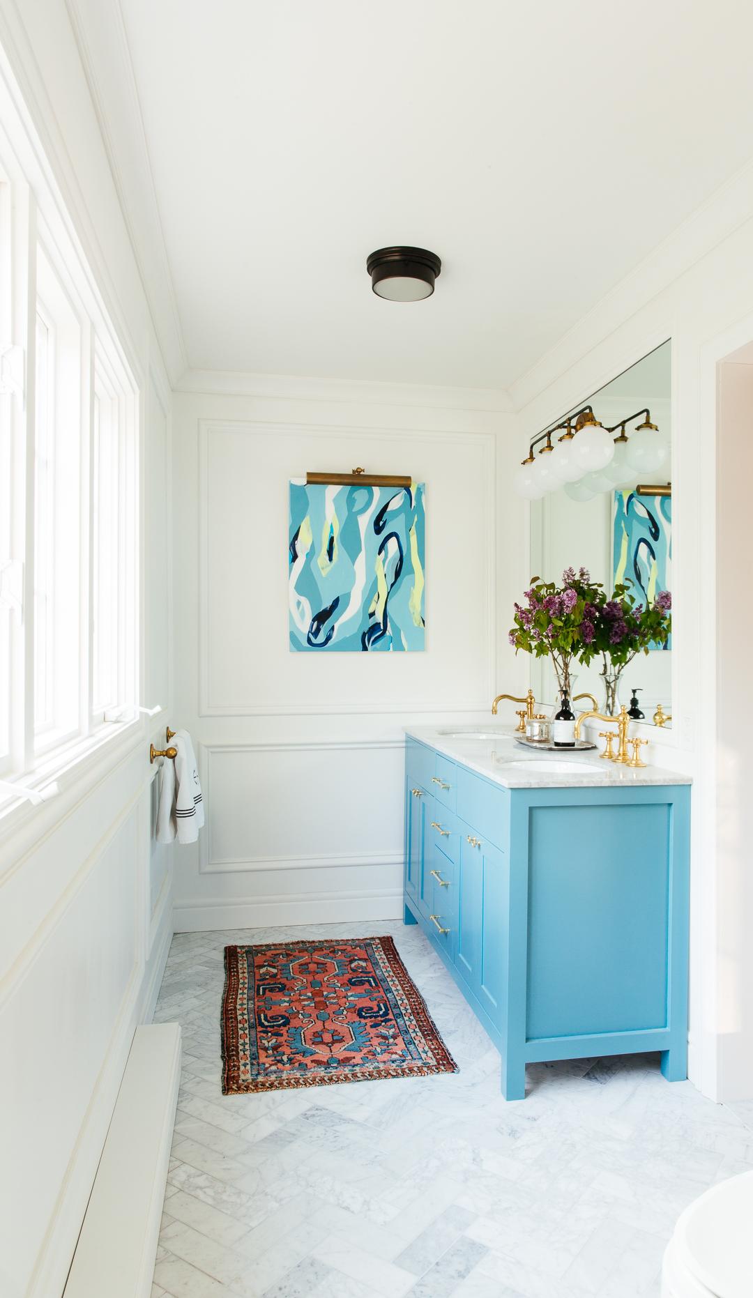 bathroom update rug