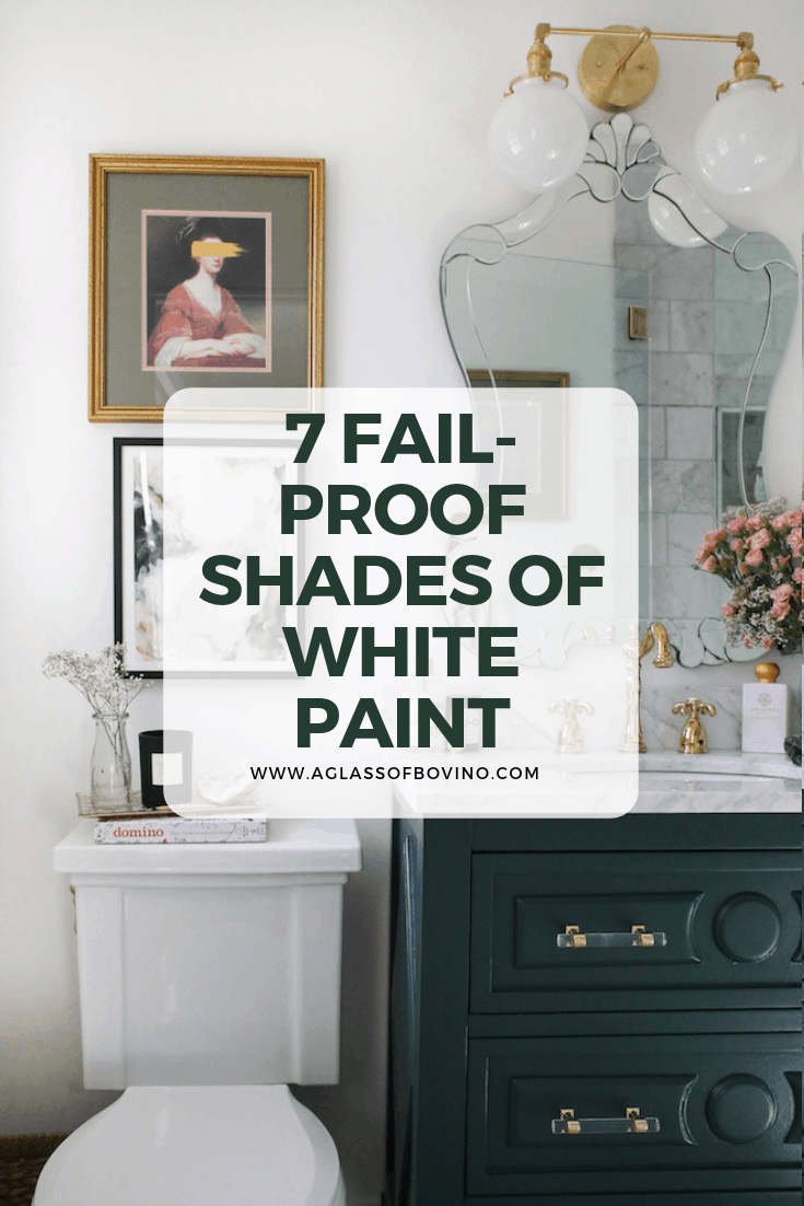 Looking To Paint Your Walls? Try These 7 Popular Shades of White