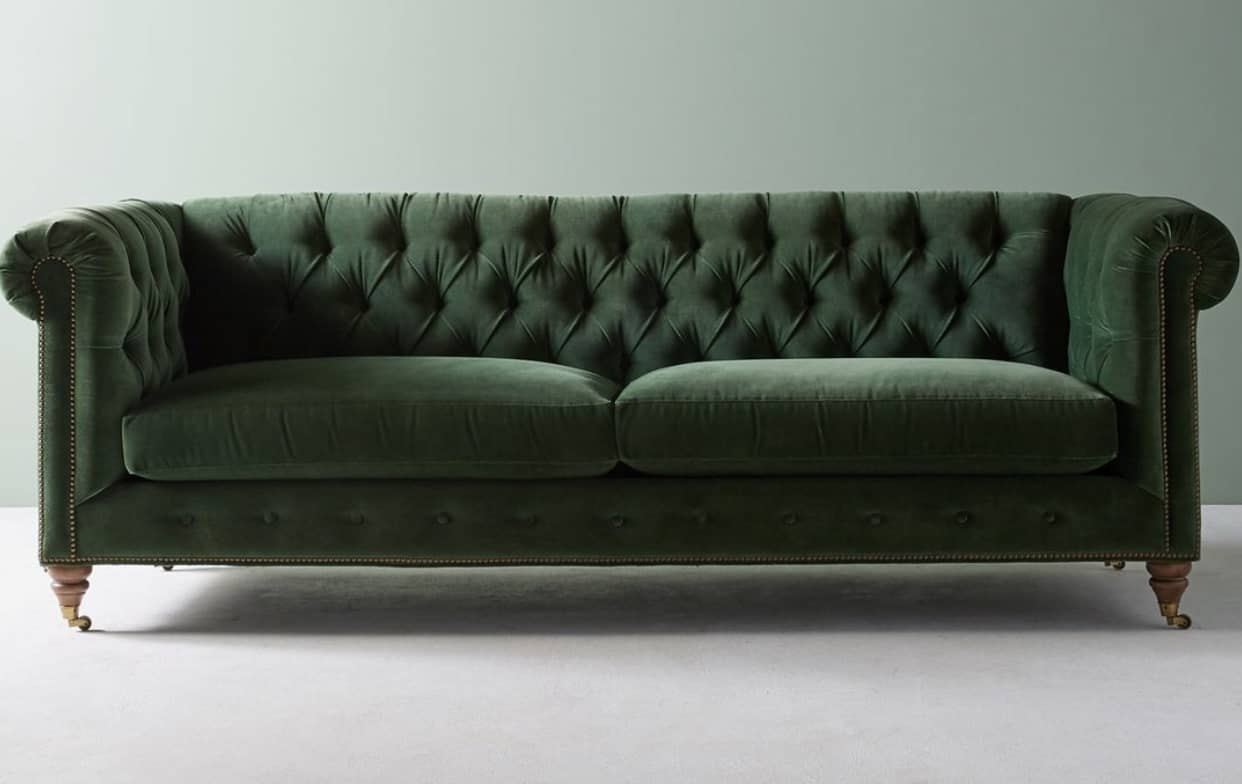 anthropologie-green-chesterfield