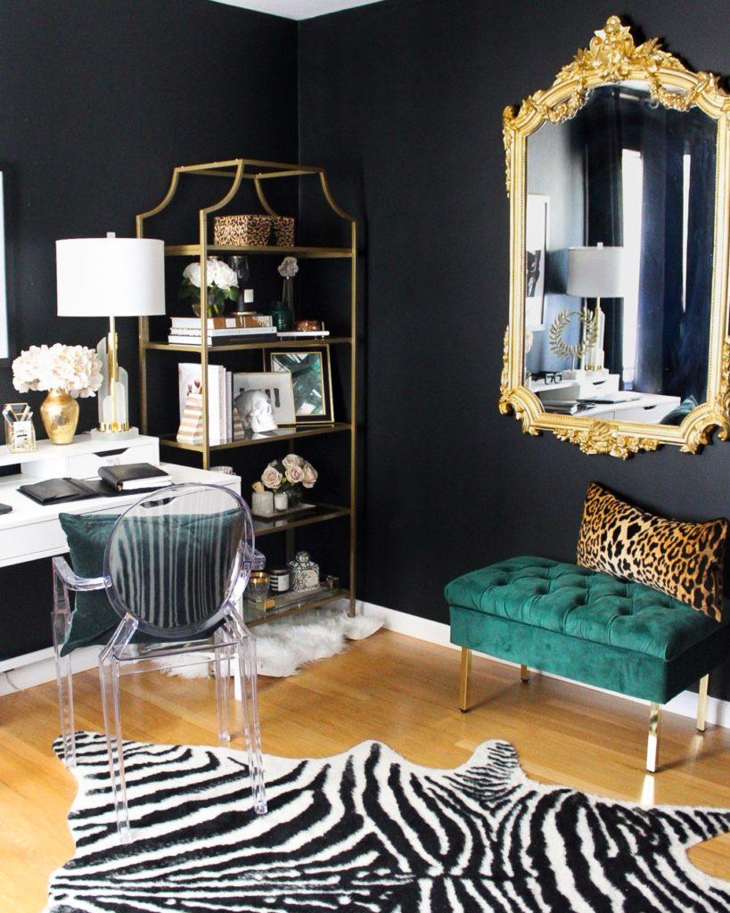 black-glam-office