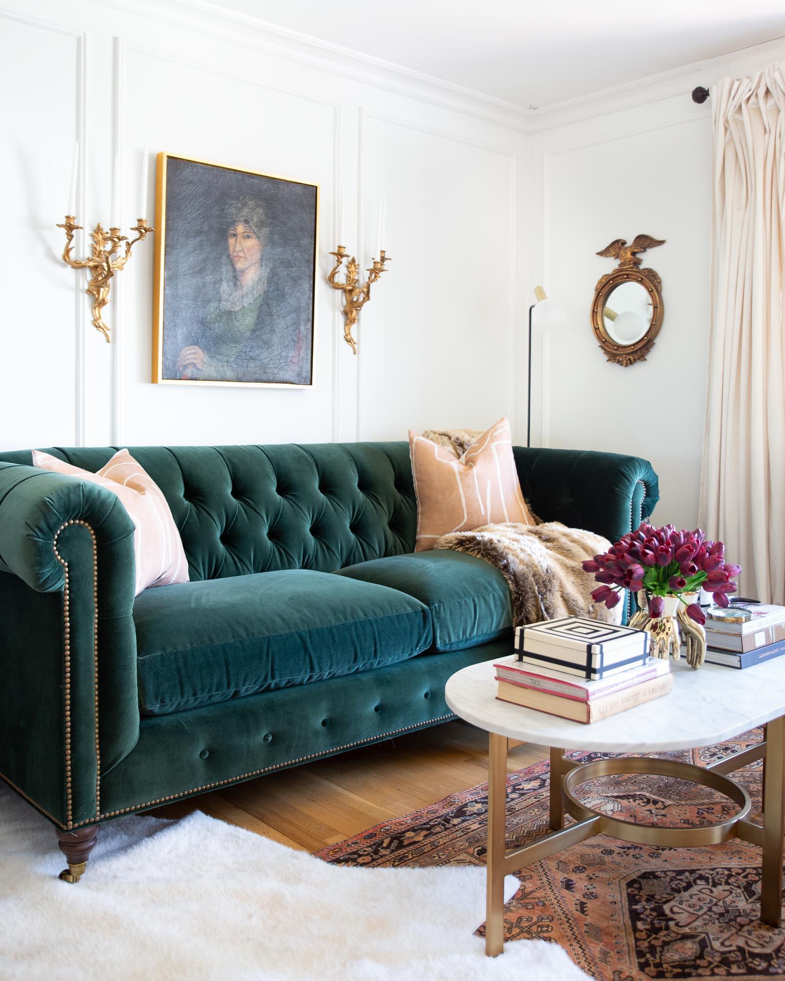 green-chesterfield-velvet-sofa-anthropologie
