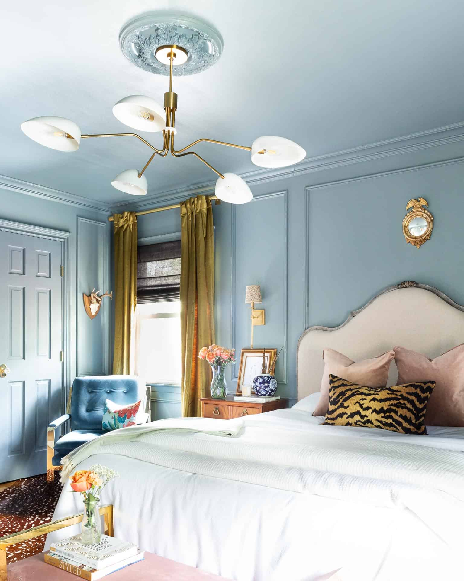 Traditional Bedroom Pictures: One Room Challenge, The Reveal: A Modern Traditional