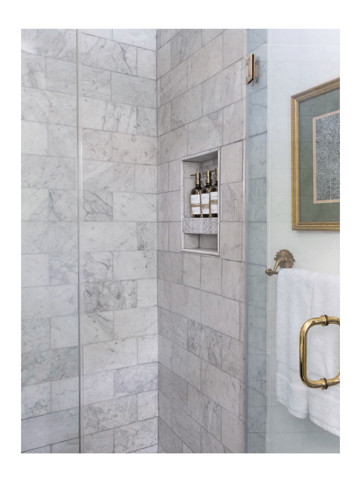 marble-shower-brass-fixtures
