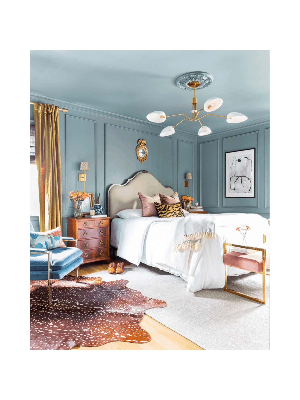 traditional-modern-glam-blue-bedroom-design