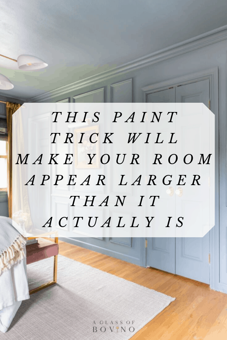 This paint trick will make your room look bigger than it - Paint to make room look bigger ...