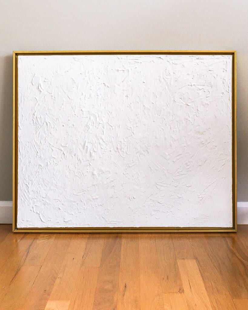 white-textured-canvas-art-DIY