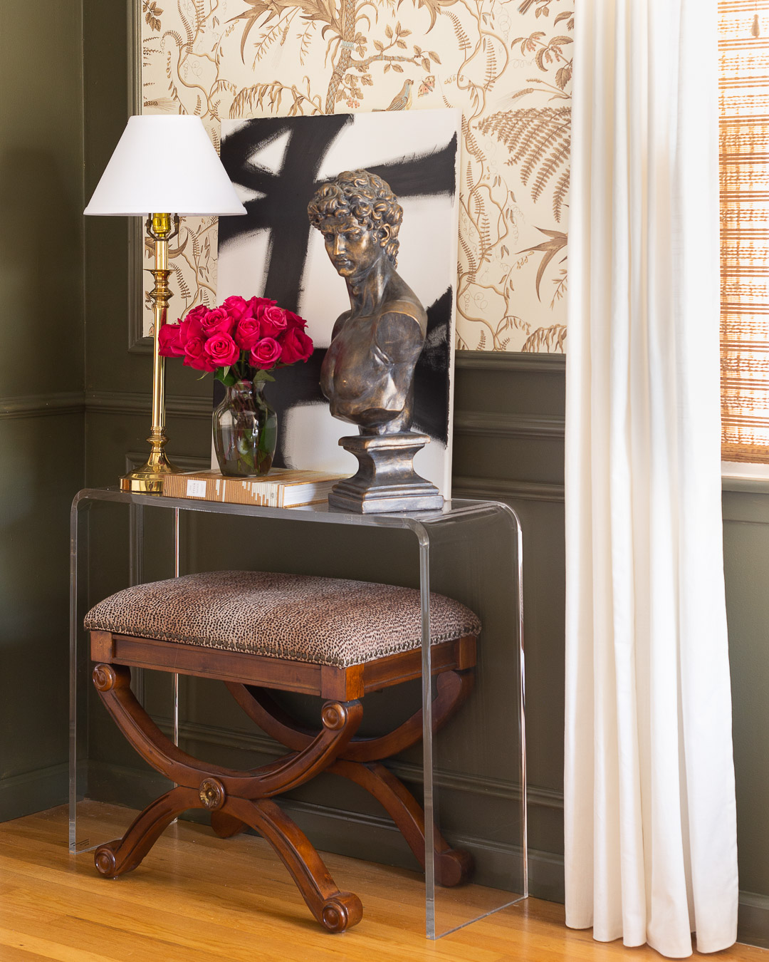 one-room-challenge-office-reveal-cb2-console