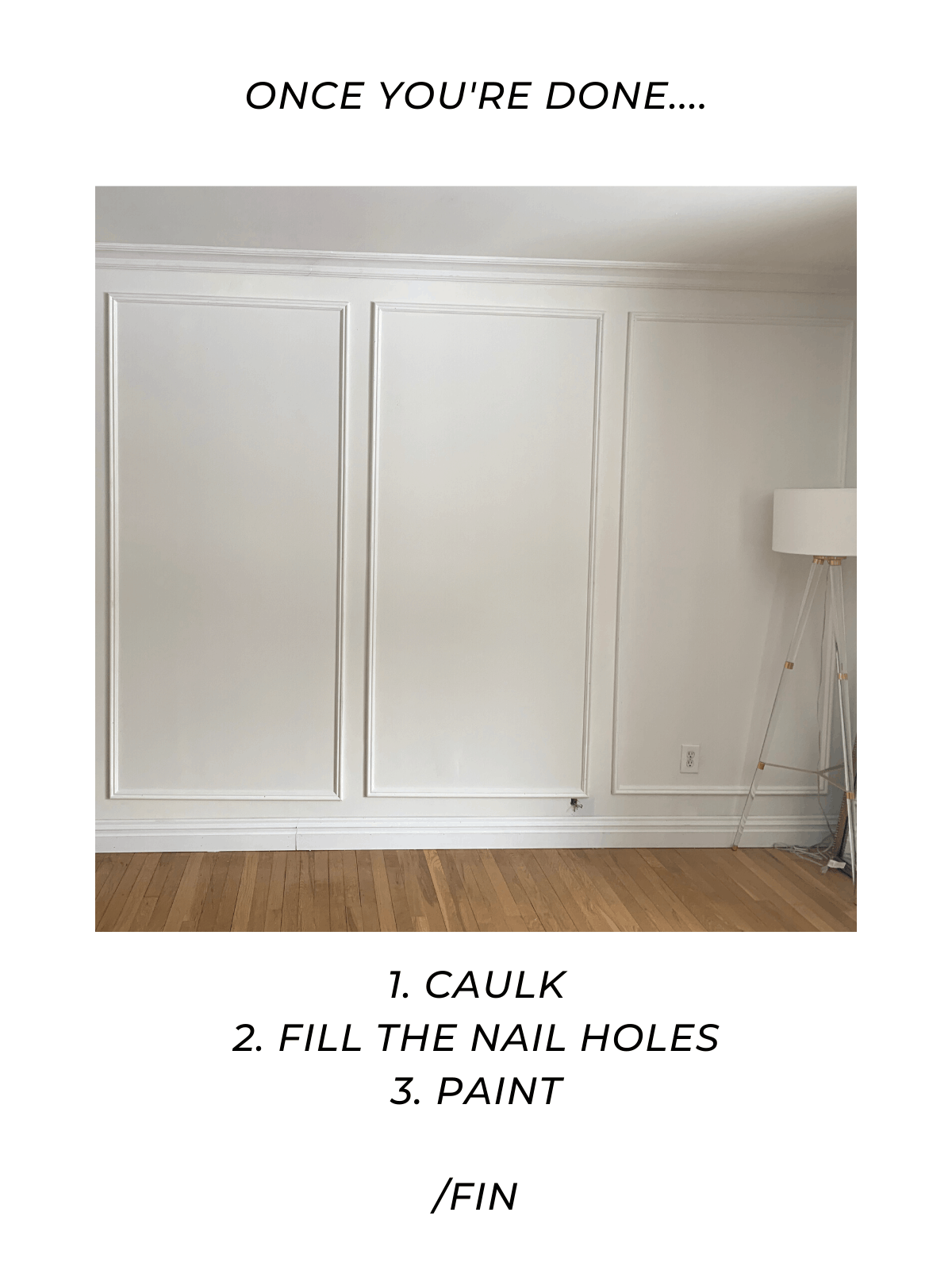 how-to-install-picture-frame-molding-on-walls