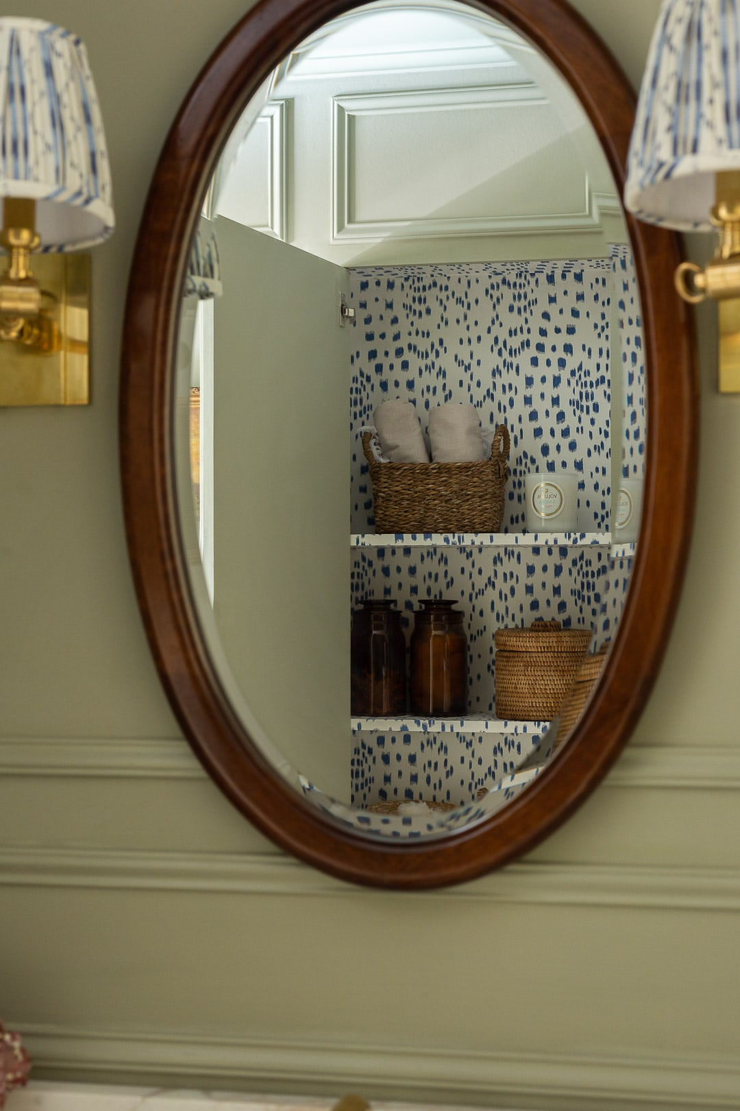 one-room-challenge-bathroom-reveal-hidden-cabinet-Brunschwig-Fils