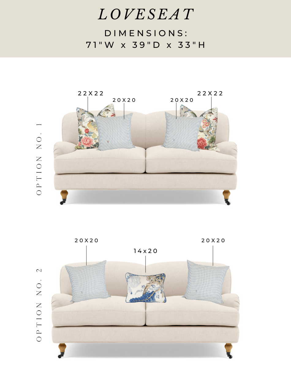 pillow-sizing-for-loveseat-sofa-sectiona-settee