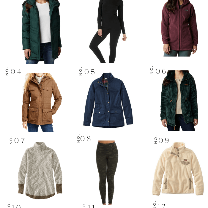 FASHION ROUNDUP: COLD WEATHER CLOTHING
