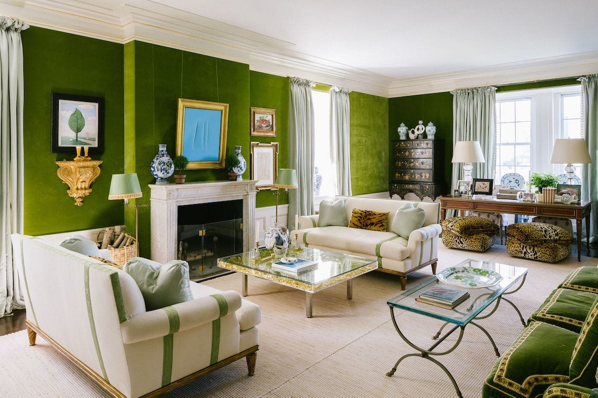 Pattern-mixing-tory-burch-living-room