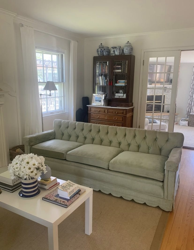 green-scalloped-sofa
