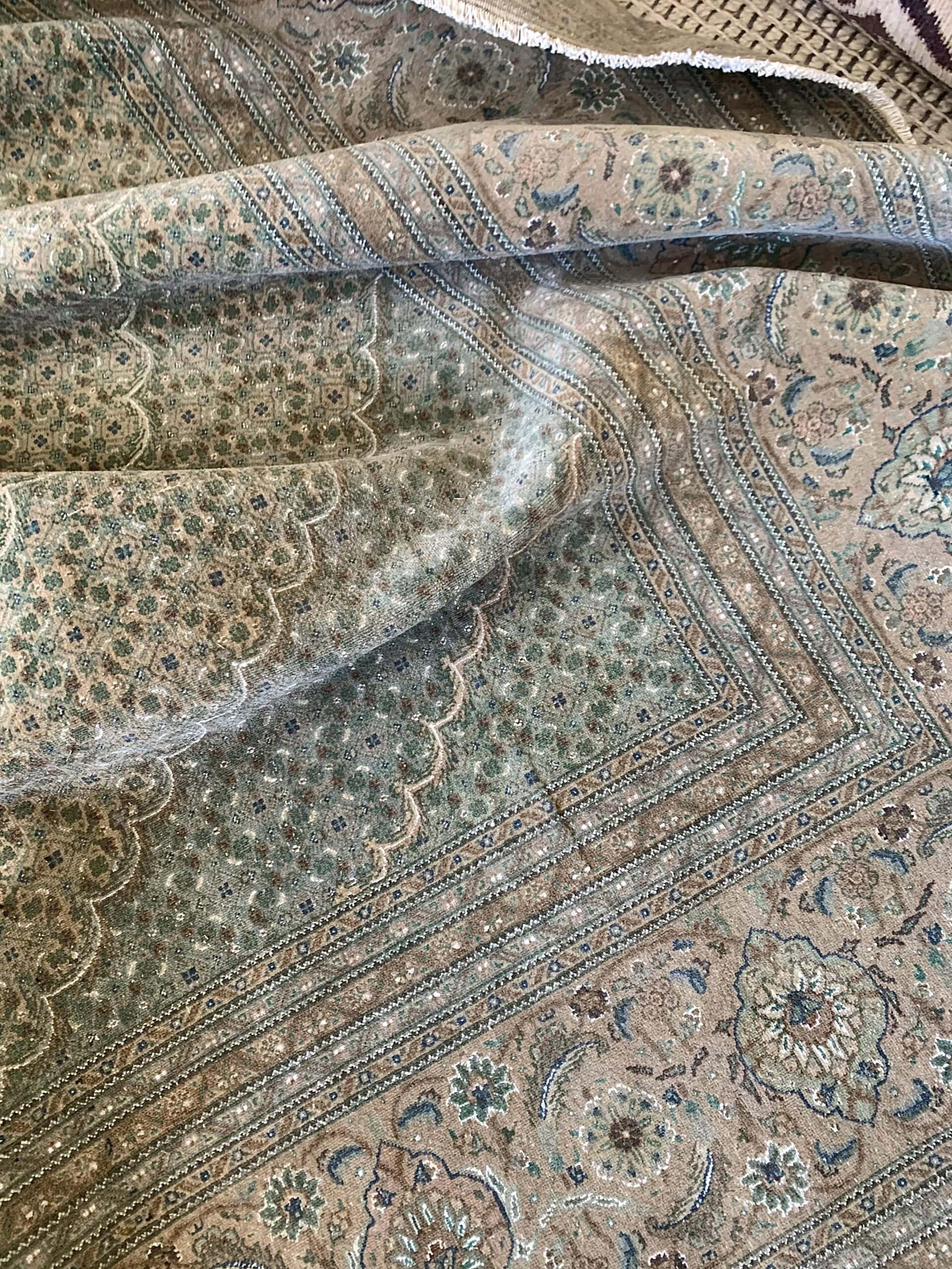 vintage-green-blue-persian-rug